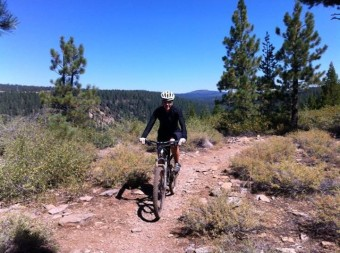 Riding the Safire in North Lake Tahoe